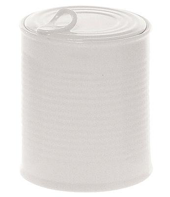Boîte Estetico quotidiano Medium / Sucrier - Ø 10 x H 12 cm - Seletti blanc en céramique