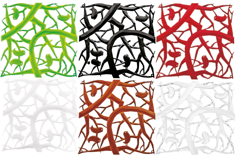 cloison pi p set de 4 crochets inclus rouge. Black Bedroom Furniture Sets. Home Design Ideas