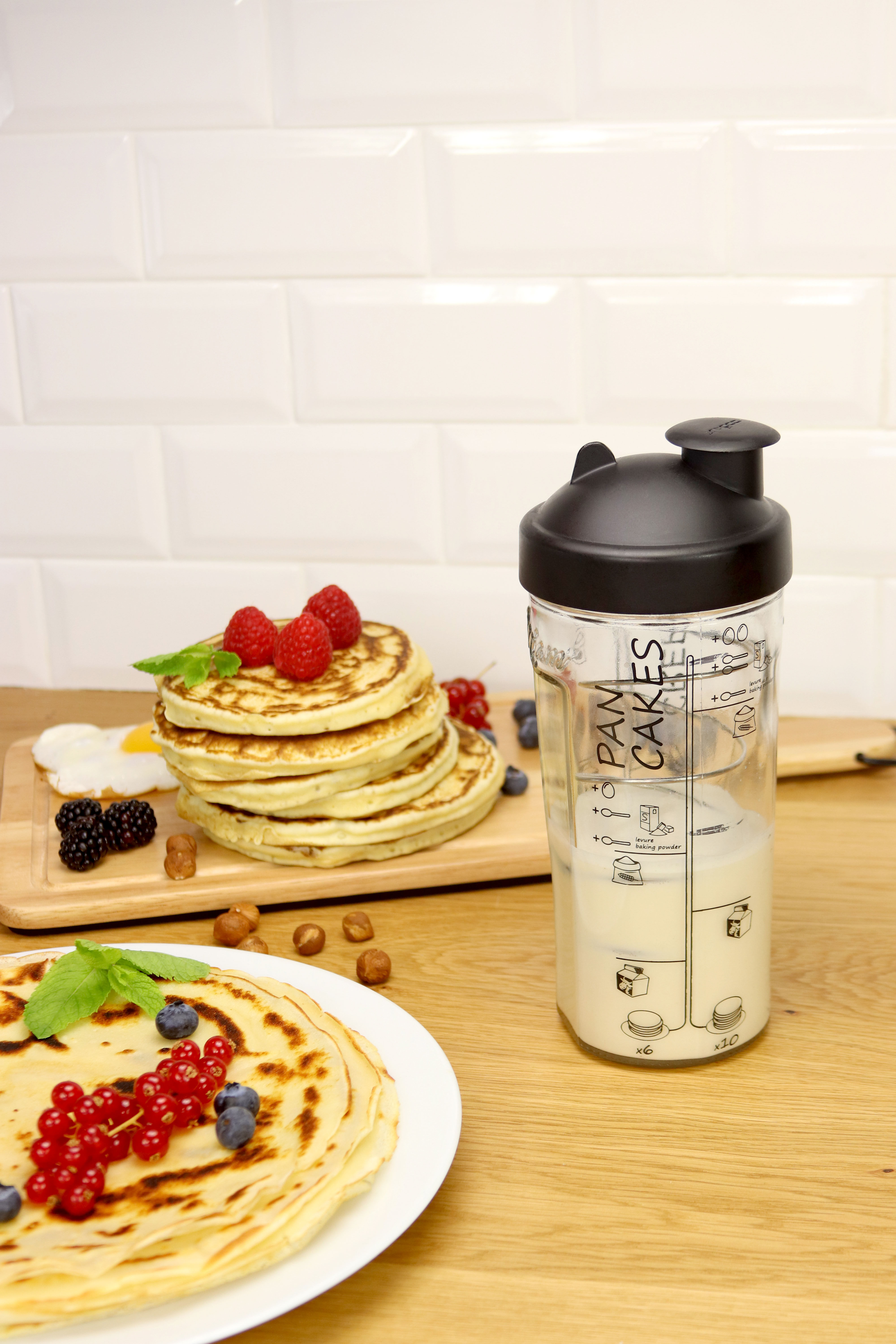 Miam Shaker - / Sweet or savoury pancakes in 2 minutes Transparent ...