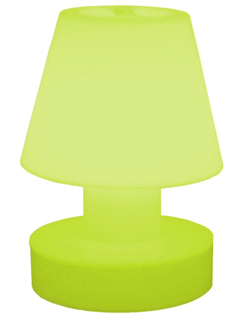 lampe ohne kabel tragbar kabellos akku h 28 cm gr n by bloom made in design. Black Bedroom Furniture Sets. Home Design Ideas