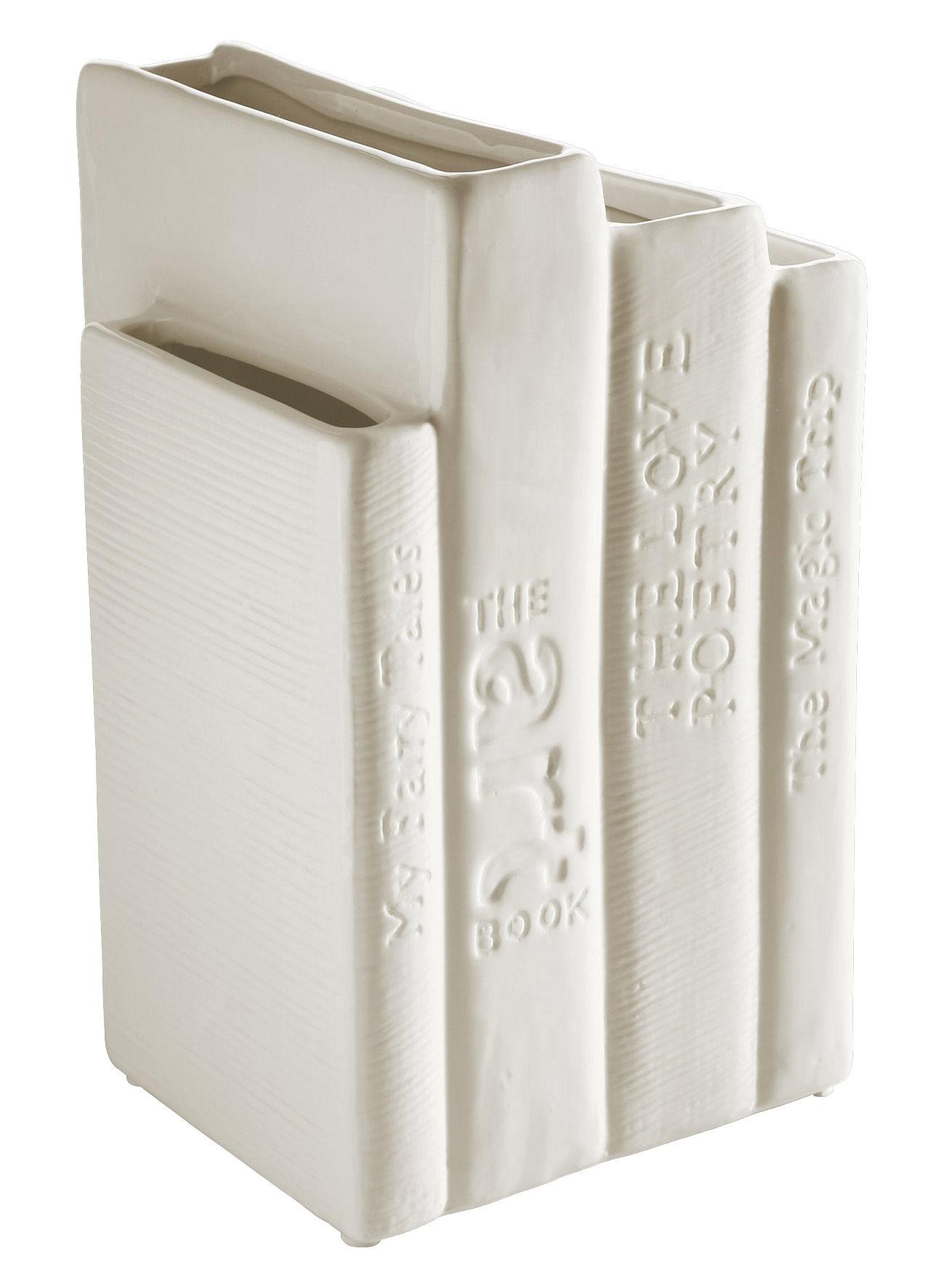 serre livres biblio tek vase blanc seletti. Black Bedroom Furniture Sets. Home Design Ideas