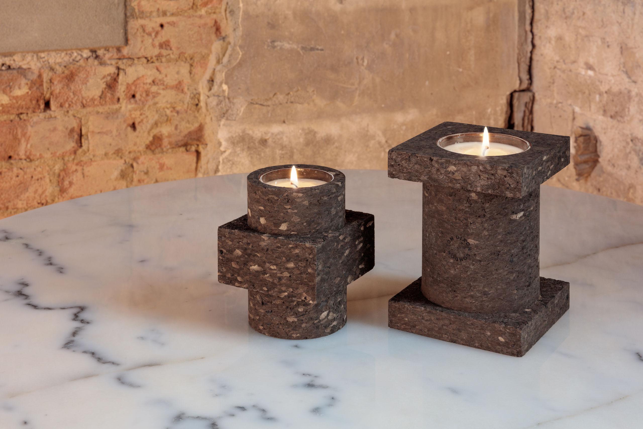 cork large kork h 16 cm tom dixon parfumierte kerze. Black Bedroom Furniture Sets. Home Design Ideas