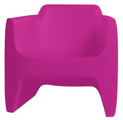 Translation Low Armchair Pink Grey By Qui Est Paul