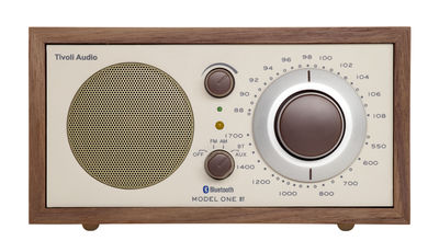 Radio Model One BT / Enceinte Bluetooth - Tivoli Audio beige,noyer en bois