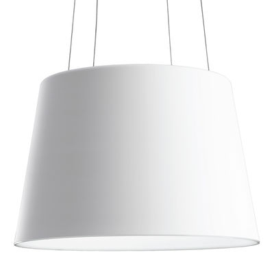 Foto Sospensione Aurea LED di Fontana Arte - Bianco - Metallo
