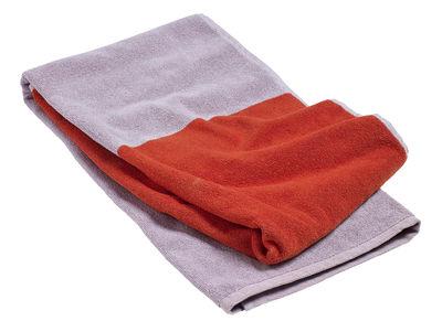 Serviette de plage Compose / 170 x 90 cm - Hay rose,rouge en tissu