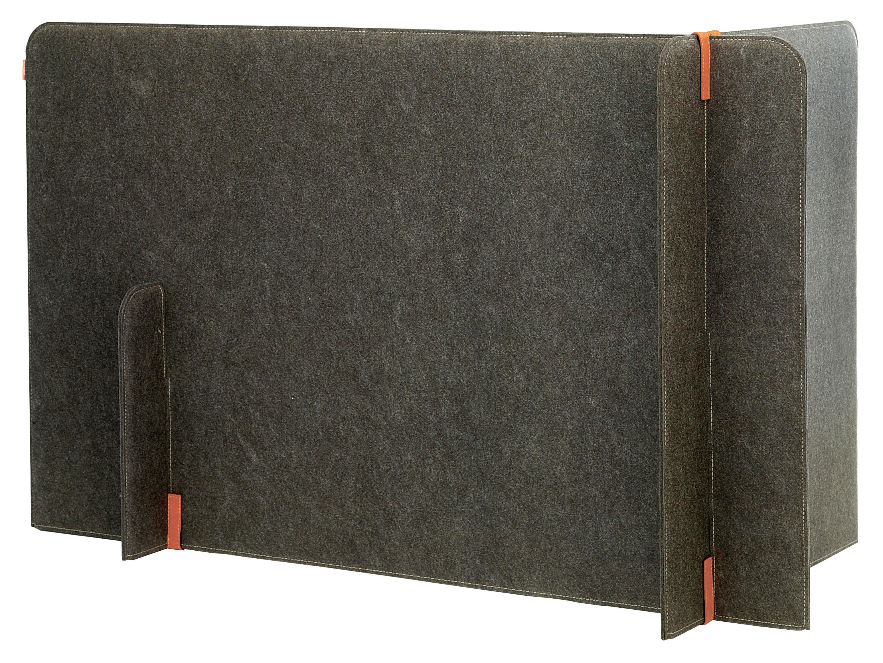 paravent buzzizone acoustique gris attaches orange buzzispace. Black Bedroom Furniture Sets. Home Design Ideas