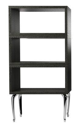 Image of Scaffale Bassotti - / Alta - L 72 x H 151 cm di Moooi - Quercia tinta nera - Legno