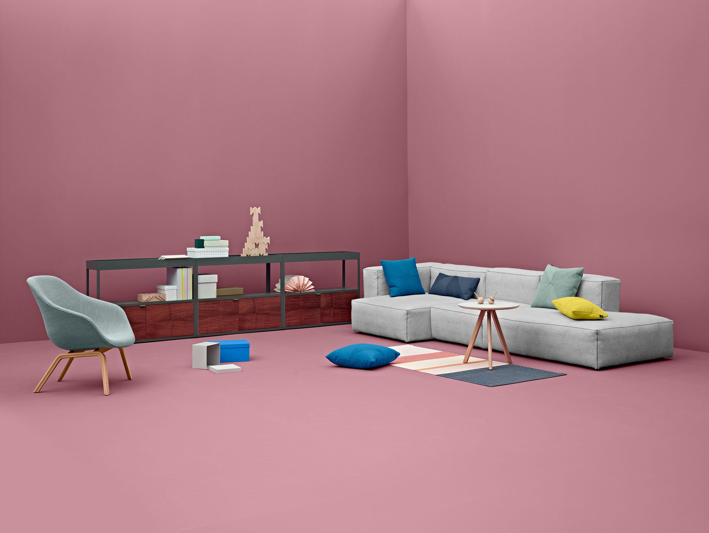 soft mags corner sofa left armrest l 302 cm light grey. Black Bedroom Furniture Sets. Home Design Ideas