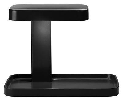 Lampe de table Piani LED / Vide-poche - Flos noir en matière plastique