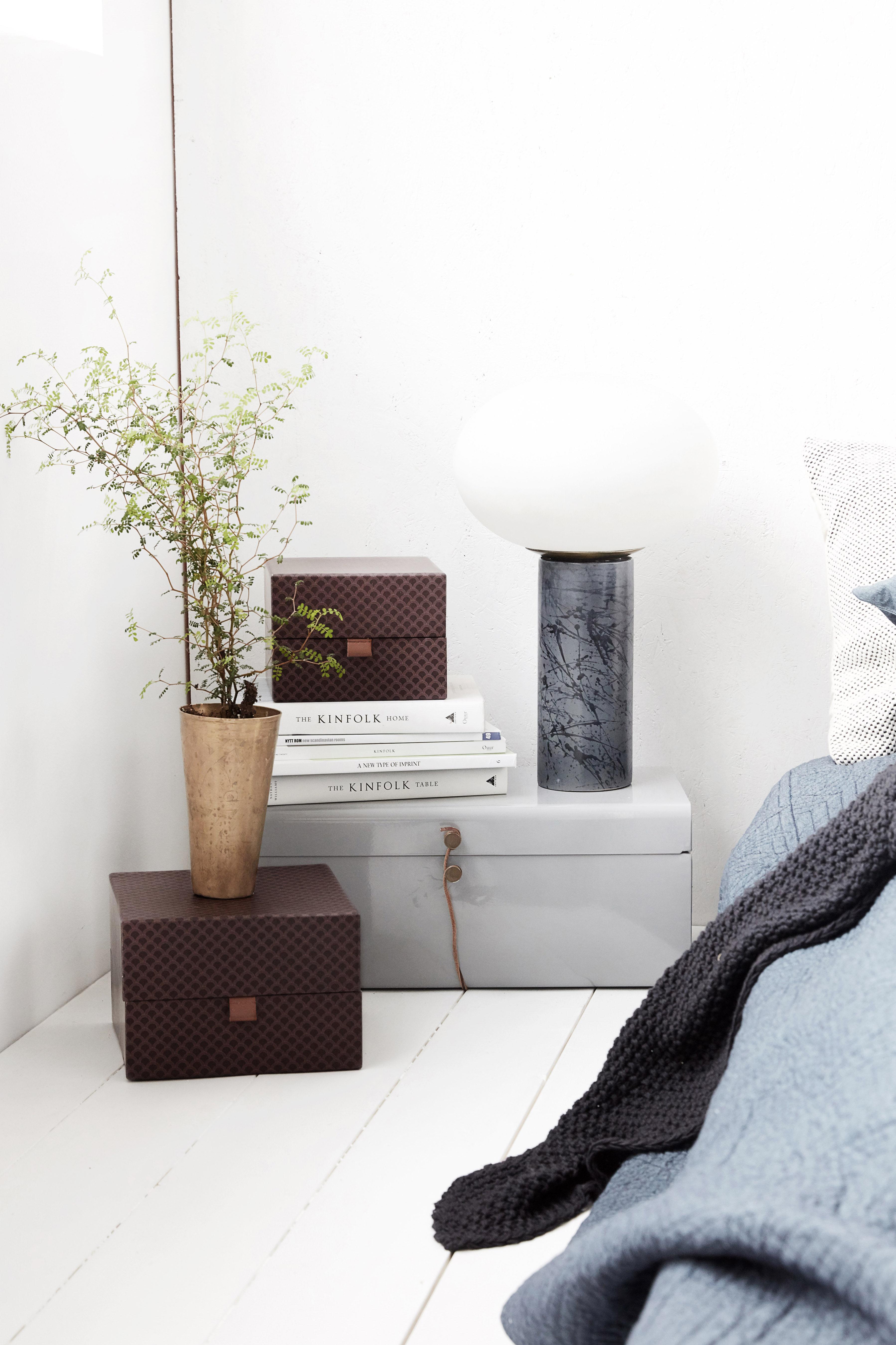 ray schachtel 2er set violett by house doctor made in design. Black Bedroom Furniture Sets. Home Design Ideas