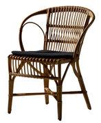 Cuscino per seduta - / Per poltrona Wengler di Sika Design - Nero - Tessuto