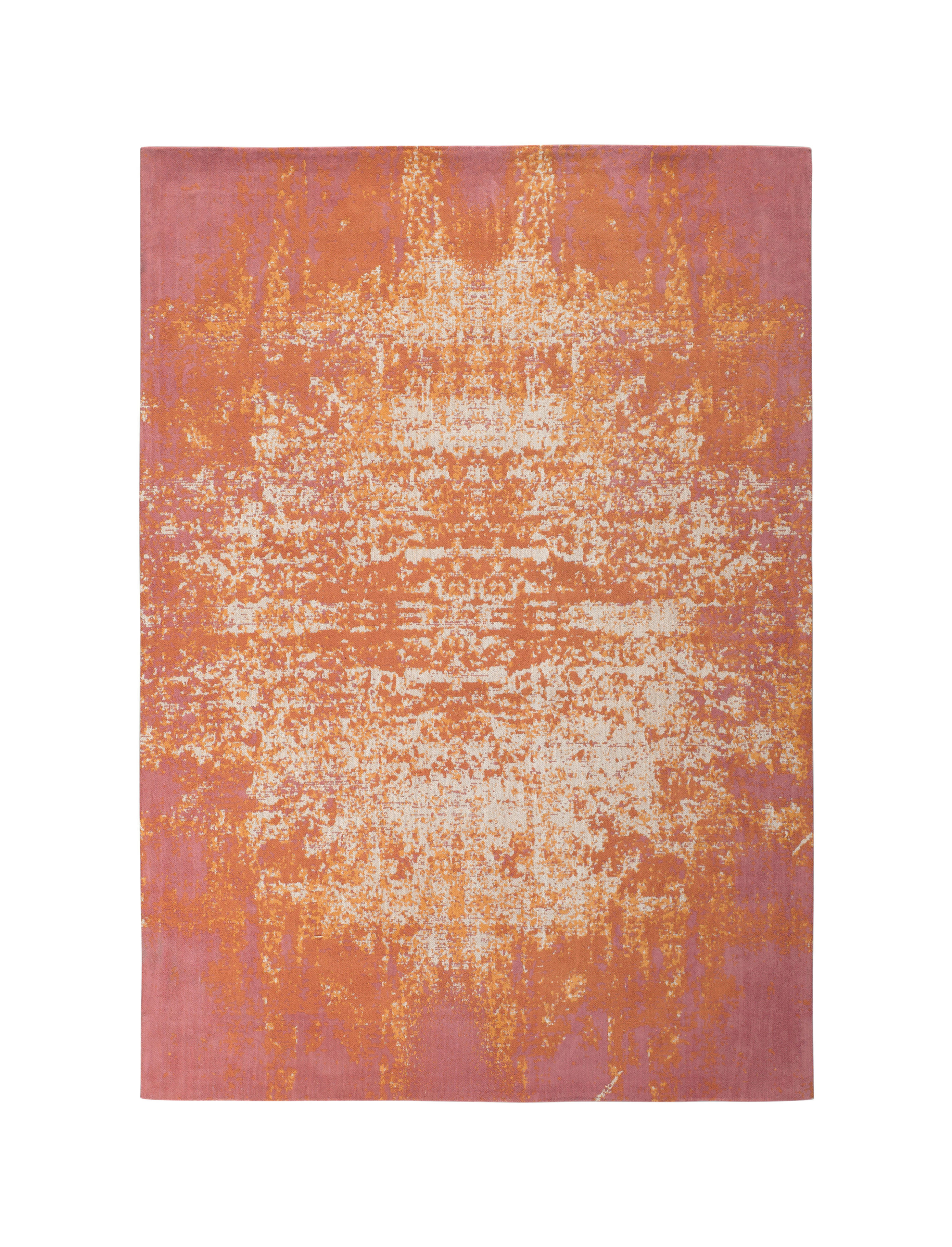 tapis alias feu 140 x 200 cm orange feu toulemonde. Black Bedroom Furniture Sets. Home Design Ideas