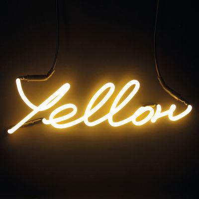 Neon Shades Yellow Wandleuchte