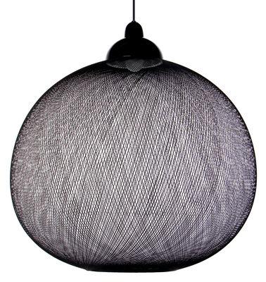 Illuminazione - Lampadari - Sospensione Non Random Light di Moooi - Noir - Fibra di vetro