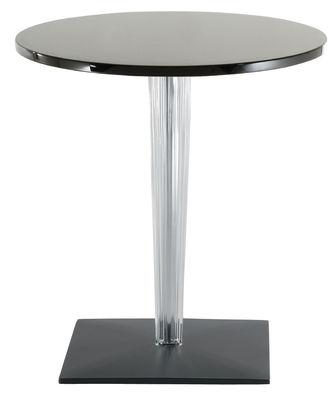 TopTop - Dr. YES Gartentisch mit runder Tischplatte Ø 60 cm - Kartell