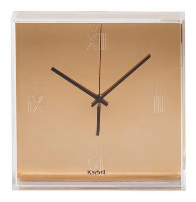 Foto Orologio murale Tic & Tac - / Metallizzato di Kartell - Rame - Materiale plastico