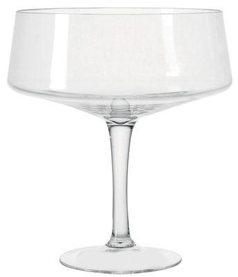 Coupe festa sur pied 27 x h 30 cm transparent leonardo - Coupe en verre sur pied centre de table ...