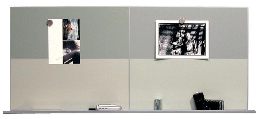 tableau magn tique pin up horizontal gris argent danese made in design. Black Bedroom Furniture Sets. Home Design Ideas
