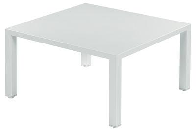 Mobilier - Tables basses - Table basse Round / Métal - 80 x 80 cm - Emu - Blanc - Acier