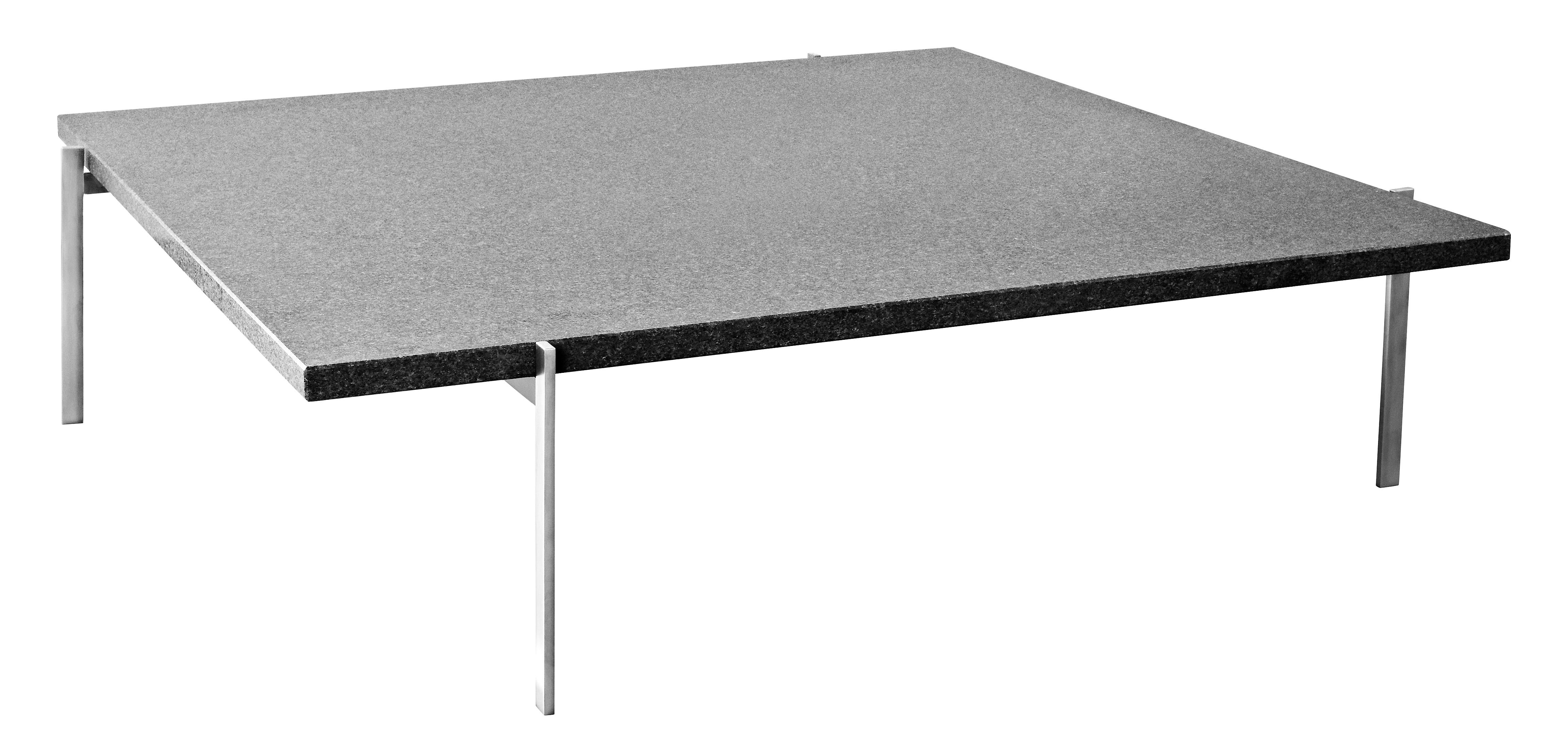 Pk 61 coffee table 80 x 80 cm marble top by fritz hansen for Coffee table 80 x 80