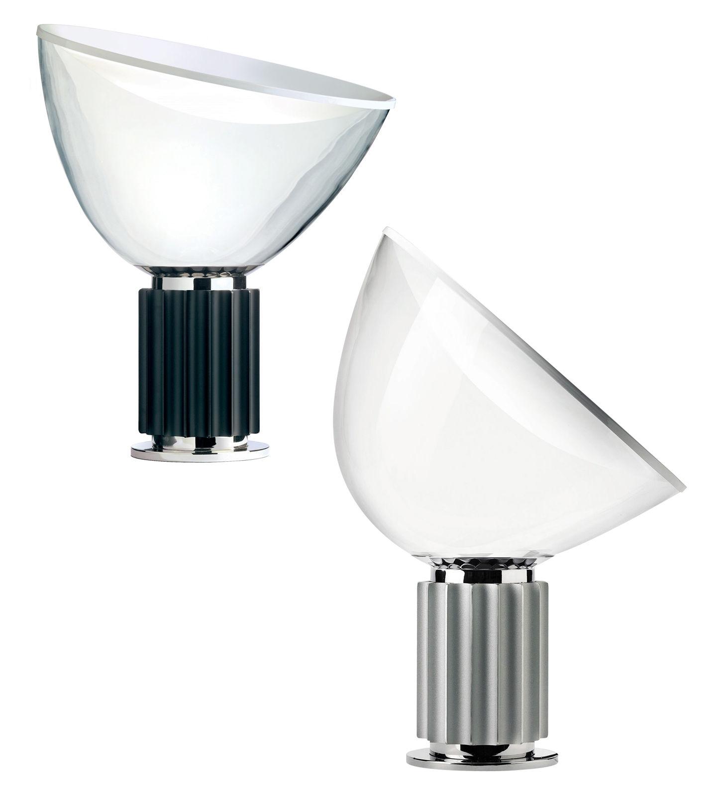 taccia lampada da tavolo base nera by flos made in design