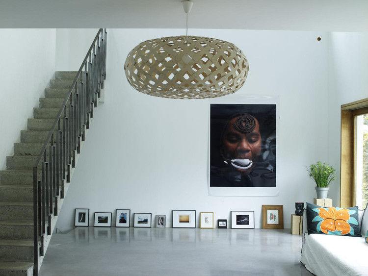 suspension kina 80 cm bicolore vert d 39 eau bois. Black Bedroom Furniture Sets. Home Design Ideas