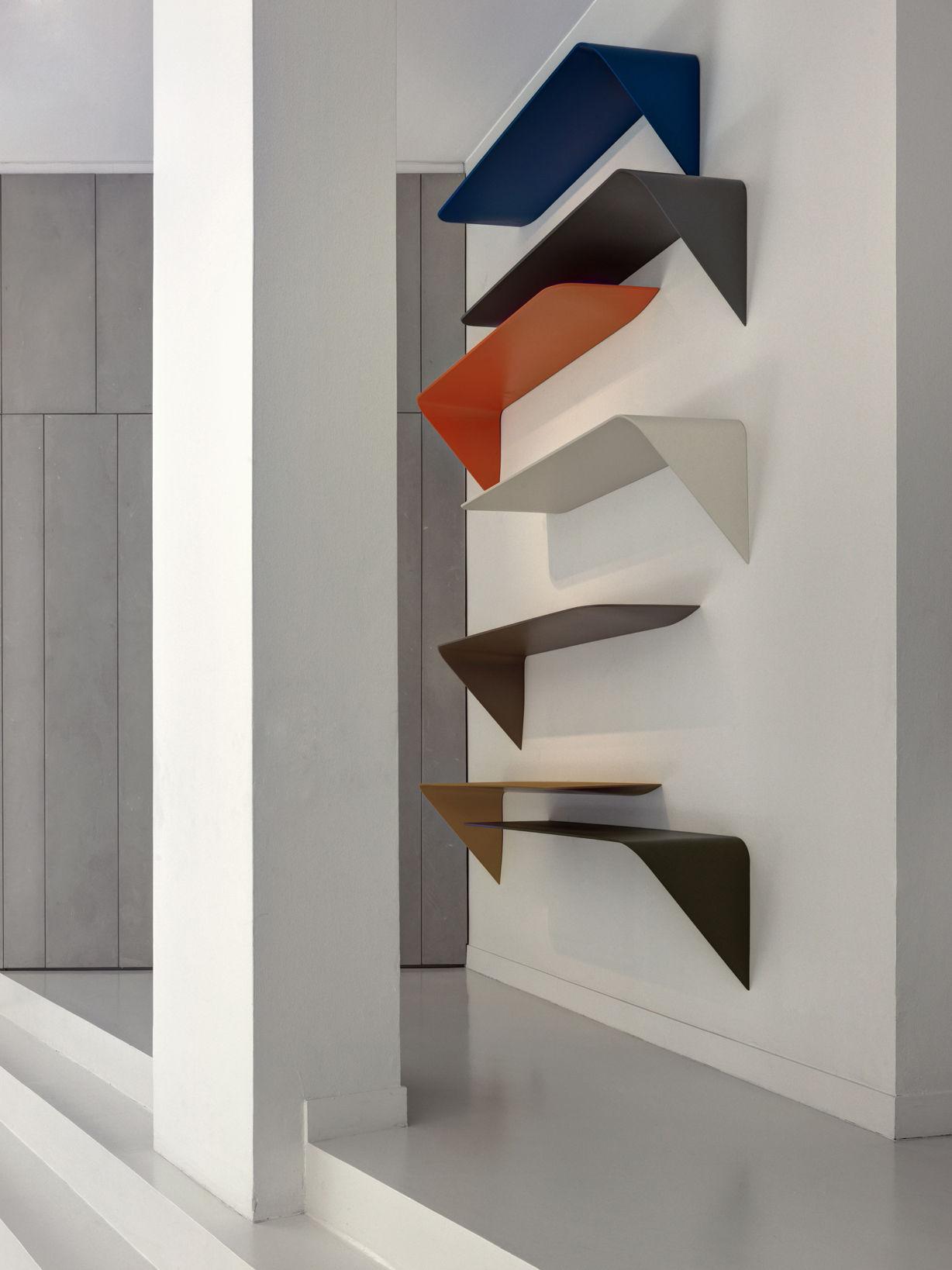 Mamba Light Shelf Orange By Mdf Italia