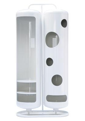 Mobilier - Commodes, buffets & armoires - Armoire Cylindres Bi - Tolix - Blanc - Acier laqué