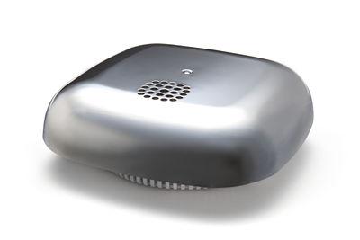 Accessoires - Pratique et malin - Détecteur de fumée Kupu / Adhésif - Jalo Helsinki - Chrome - Matière plastique, Tissu