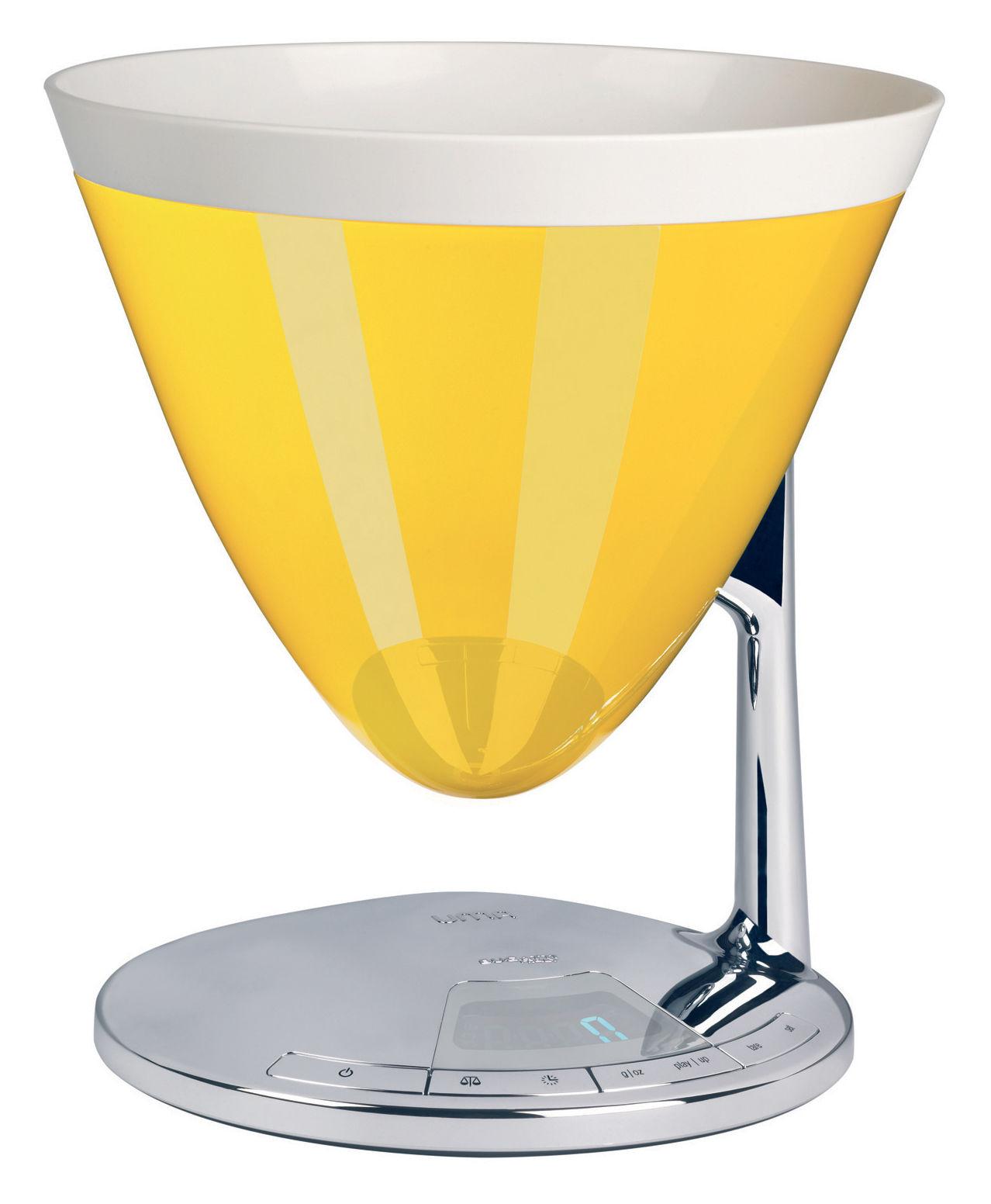Balance de cuisine lectronique uma minuteur jaune bugatti - Koziol balances ...