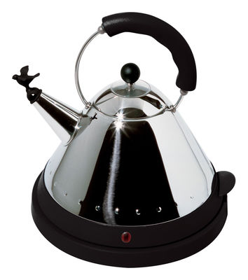 Bouilloire électrique Oisillon - Alessi noir en métal