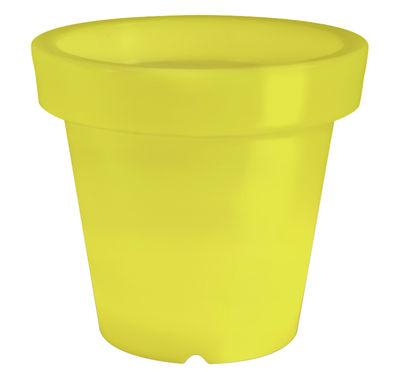 Pot de fleurs lumineux Bloom / H 40 cm - Bloom! vert en matière plastique