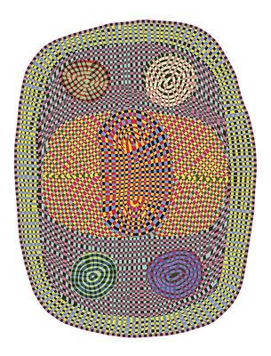 Déco - Tapis - Tapis Wild / 225 x 295 cm - Moooi Carpets - Multicolore - Polyamide