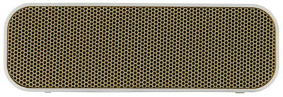 Enceinte Bluetooth aGROOVE Portable sans fil Kreafunk blanc,or en matière plastique