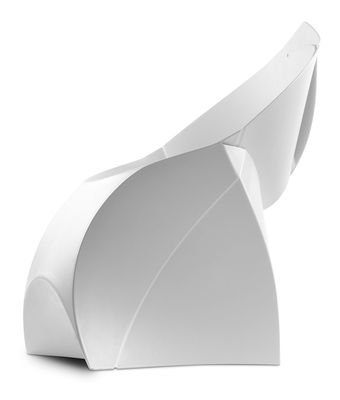 Furniture   Chairs   Flux Chair Folding Armchair   Polypropylene By Flux    White   Polypropylene