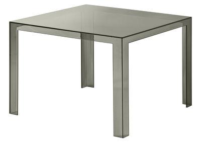 Invisible Tisch 72 cm - Kartell - Rauch