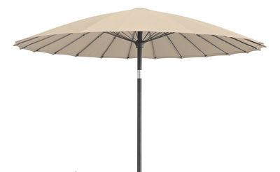 Shanghai parasol 210 cm 210 cm antique beige by vlaemynck - Vlaemynck parasol ...