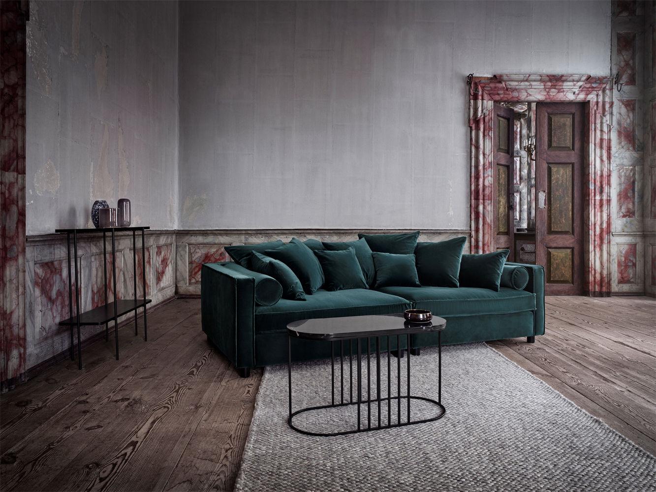 table basse posea marbre 80 x 35 cm marbre noir base. Black Bedroom Furniture Sets. Home Design Ideas