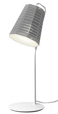 Luminaire - Lampes de table - Lampe de table Null Vector LED - Artemide - Gris aluminium - Aluminium