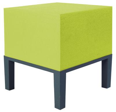 Mobilier - Mobilier Ados - Pouf Primary - Pouf 01 - Quinze & Milan - Vert citron - Mousse de polyuréthane