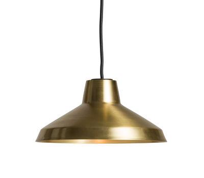 Luminaire - Suspensions - Suspension Evergreen Small / Ø 30 cm - Laiton - Northern  - Laiton brossé - Laiton brossé