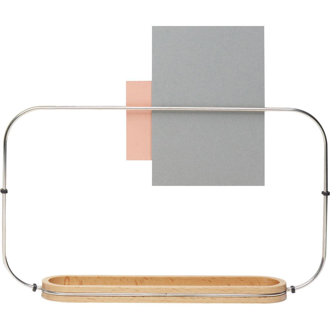 Porte objets fierzo bois acier alessi for Alessi porte prezzi