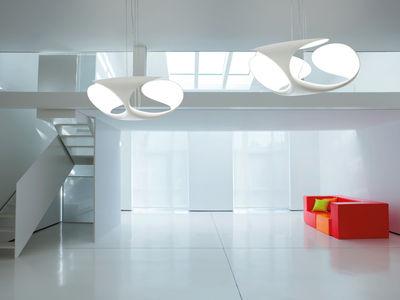 suspension clover 70 cm blanc kundalini. Black Bedroom Furniture Sets. Home Design Ideas
