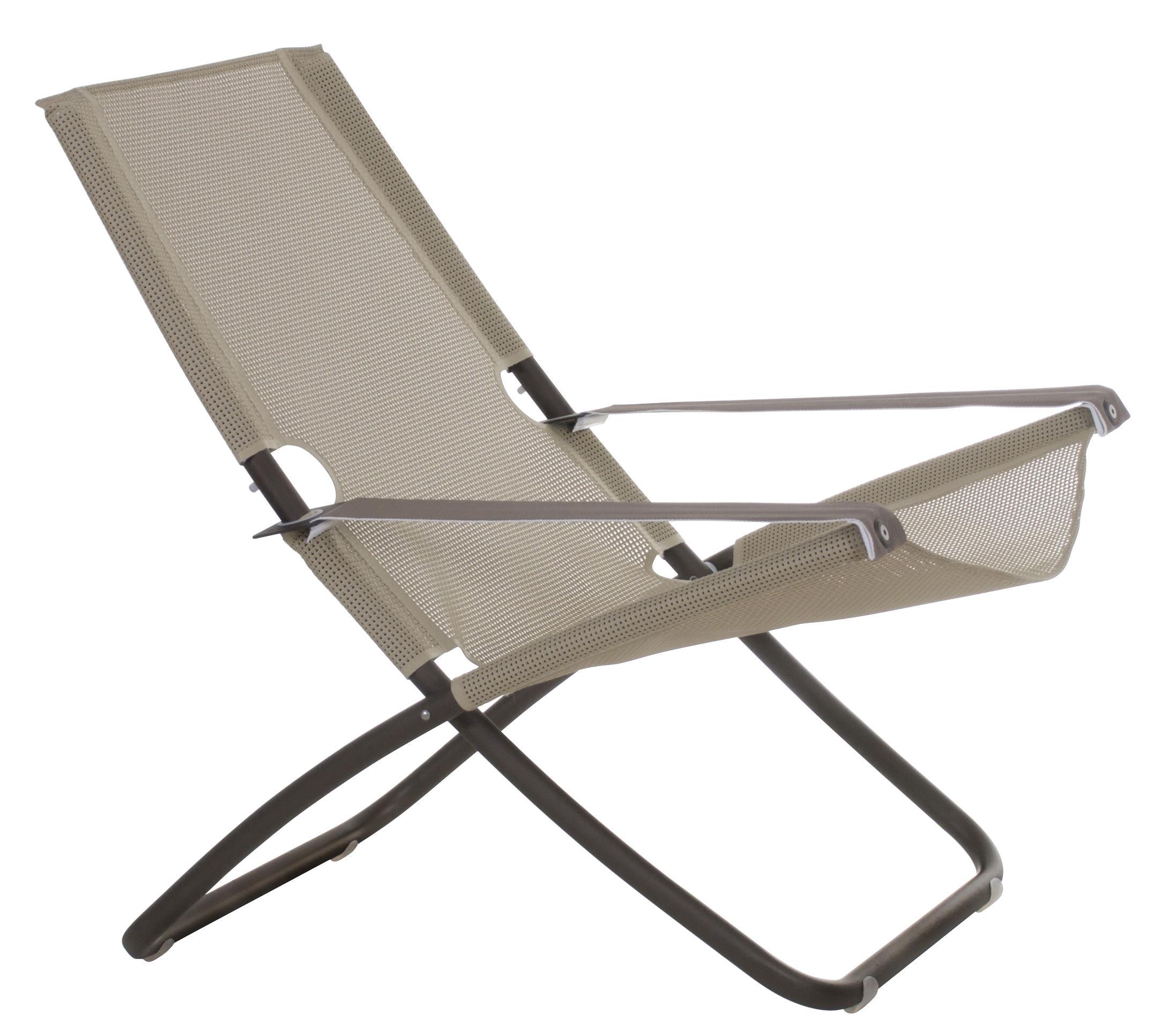 Chaise longue snooze bronze emu for Chaise longue pour bronzer