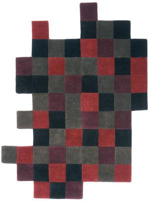 Foto Tappeto Do-Lo-Rez - 207 x 253 cm di Nanimarquina - Rosso - Tessuto