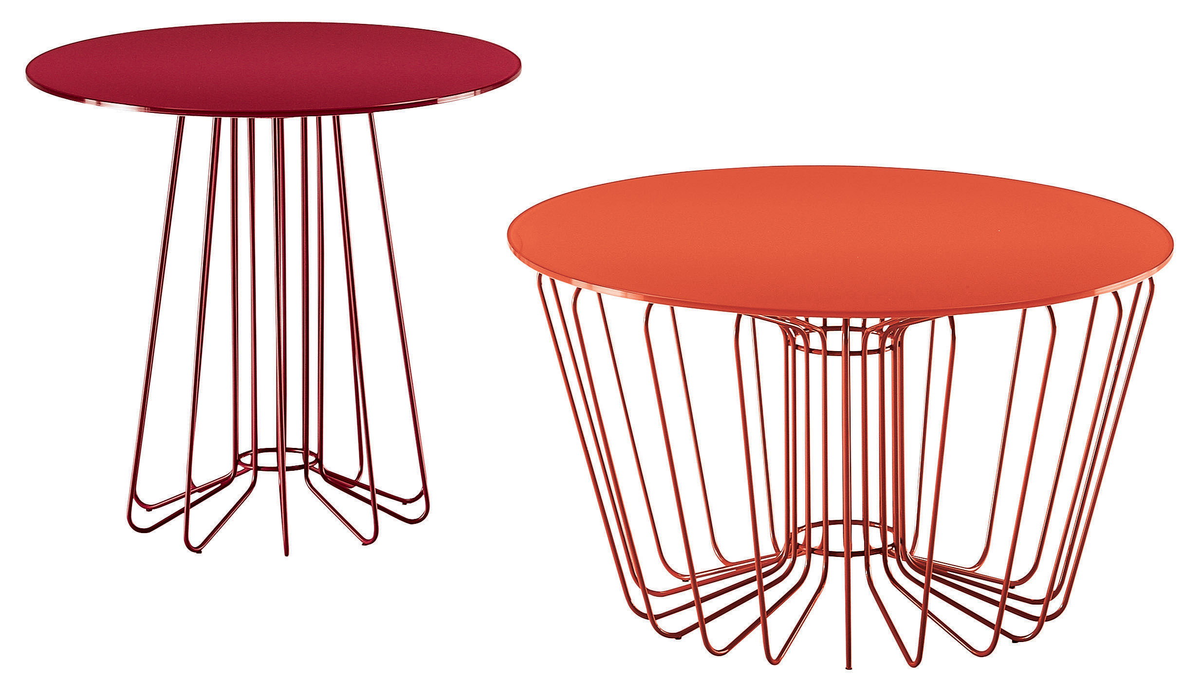 Wire coffee table orange leg ant table top by zanotta made in loading keyboard keysfo Image collections