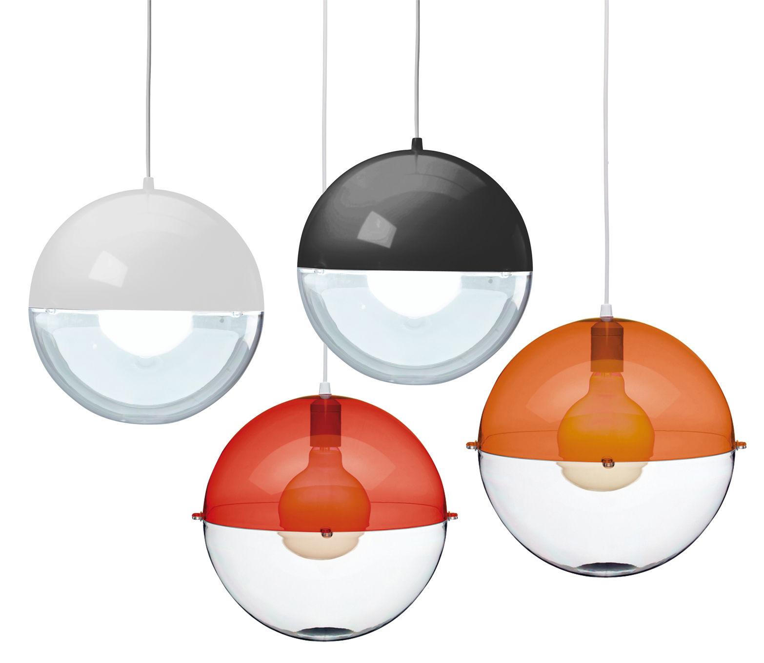 orion pendant black transparent by koziol made in. Black Bedroom Furniture Sets. Home Design Ideas