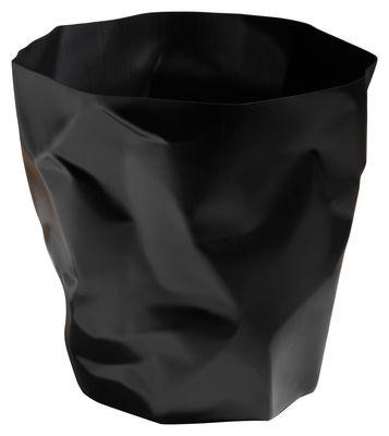 Decoration - Office - Bin Bin Basket - H 31 x Ø 33 cm by Essey - Black - Polythene