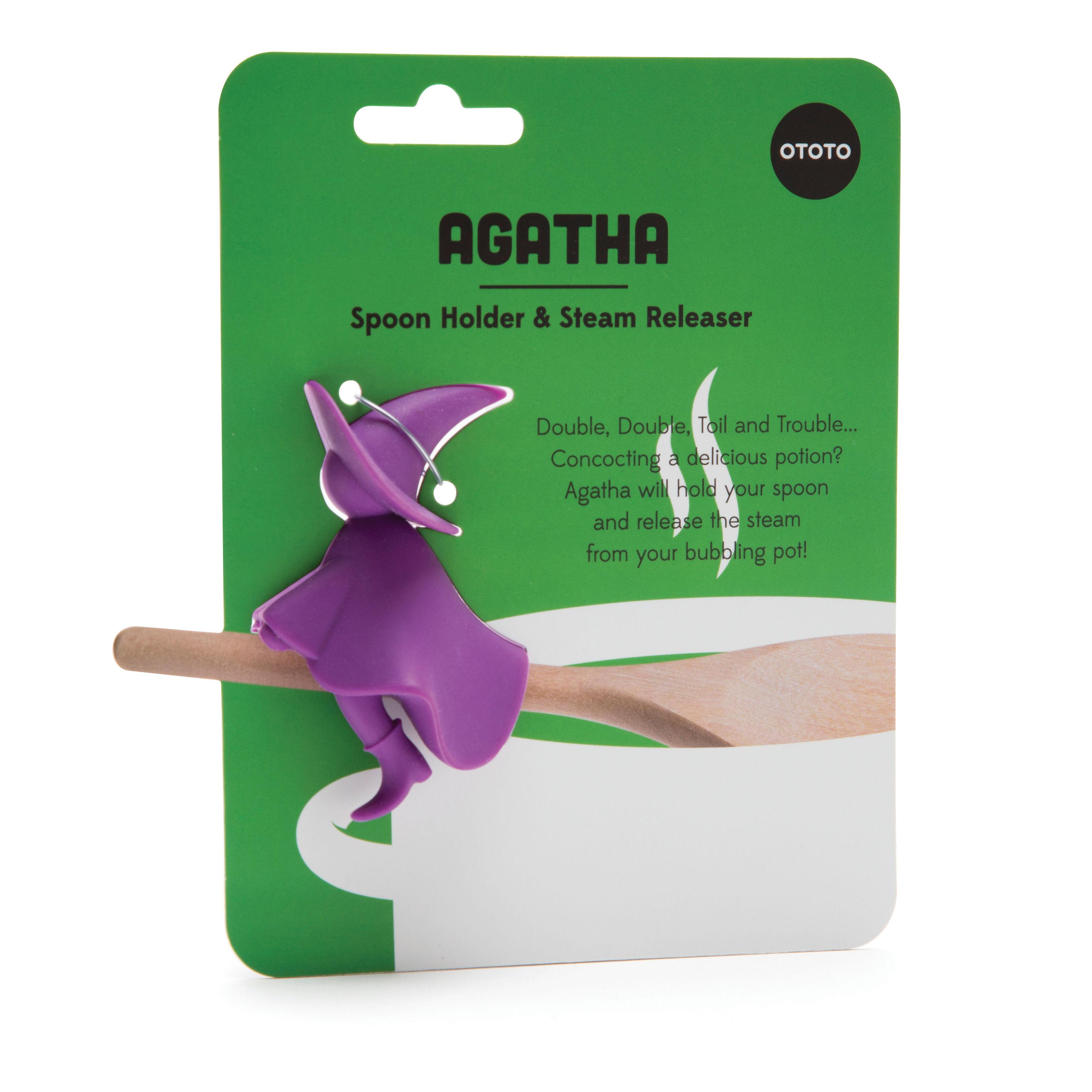 Agatha Löffelablage - / Dampfablasser Violett by Pa Design | Made In ...